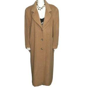 Vtg Womens sz 14-16 L-XL Long Full Length Cashmere